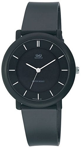 Q&Q Regular Analog Black Dial Men's Watch - VQ94J003Y get best offers deals free and coupons online at buythevalue.in