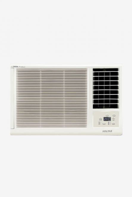 Voltas 1.0 Ton 3 Star (BEE rating 2018) 123 LZF (R410A) Copper Window AC (White) get best offers deals free online at buythevalue.in