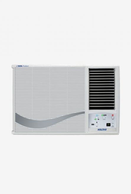 Voltas 1.5 Ton 2 Star (BEE rating 2018) 182 LZG Copper Window AC (White) get best offers deals free online at buythevalue.in