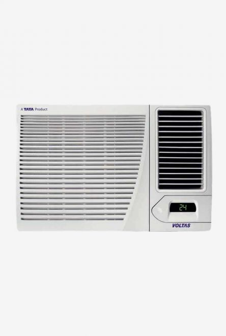 Voltas 1.5 Ton 3 Star (BEE rating 2018) 183 CZP Copper Window AC (White) get best offers deals free online at buythevalue.in