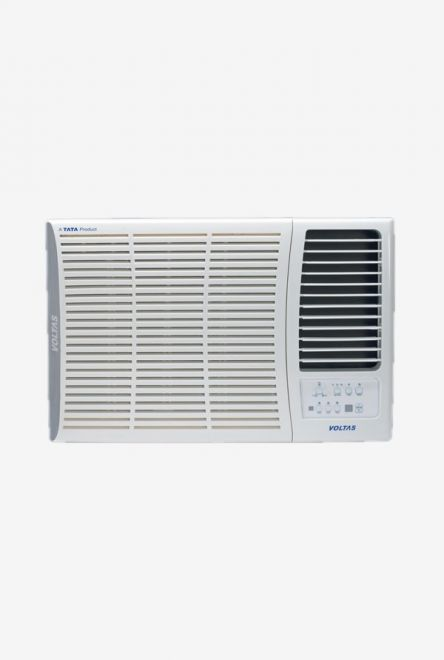 Voltas 1.5 Ton 5 Star (BEE rating 2018) 185 DZA Copper Window AC (White) get best offers deals free online at buythevalue.in