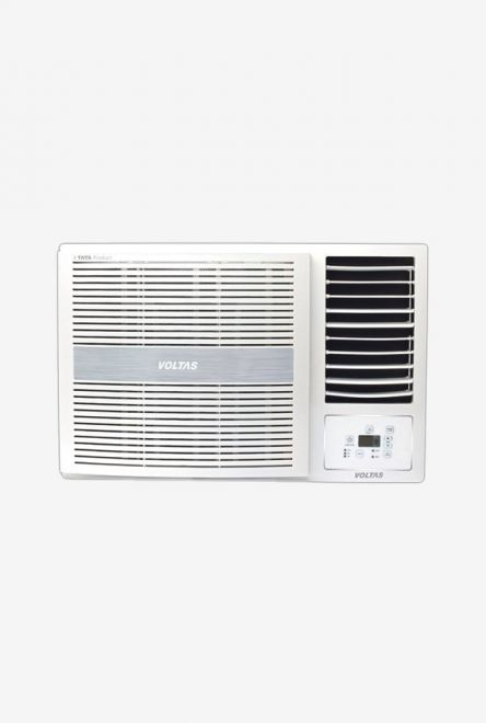 Voltas 1.5 Ton 5 Star Window AC (Copper, 185 LZH, White) get best offers deals free online at buythevalue.in