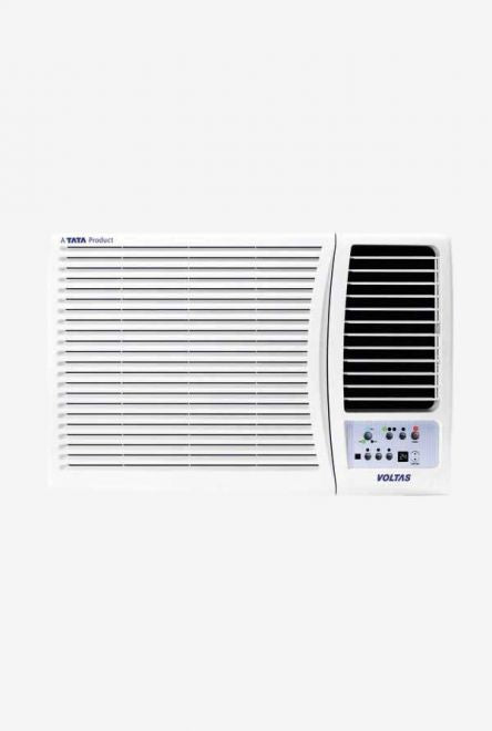 Voltas 1.5 Ton 5 Star (BEE rating 2018) 185 MZC Copper Window AC (White) get best offers deals free online at buythevalue.in