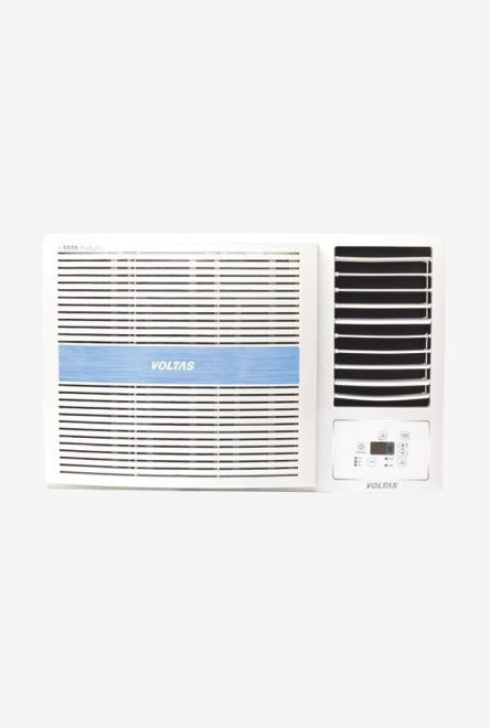 Voltas 1.5 Ton 5 Star (BEE rating 2018) 185 MZJ Copper Window AC (White) get best offers deals free online at buythevalue.in