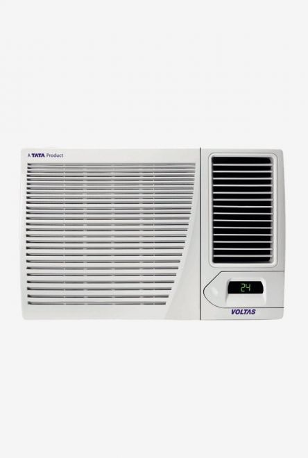 Voltas 1.5 Ton (BEE rating 2018) 18H CZP (All Weather) Copper Window AC (White) get best offers deals free online at buythevalue.in