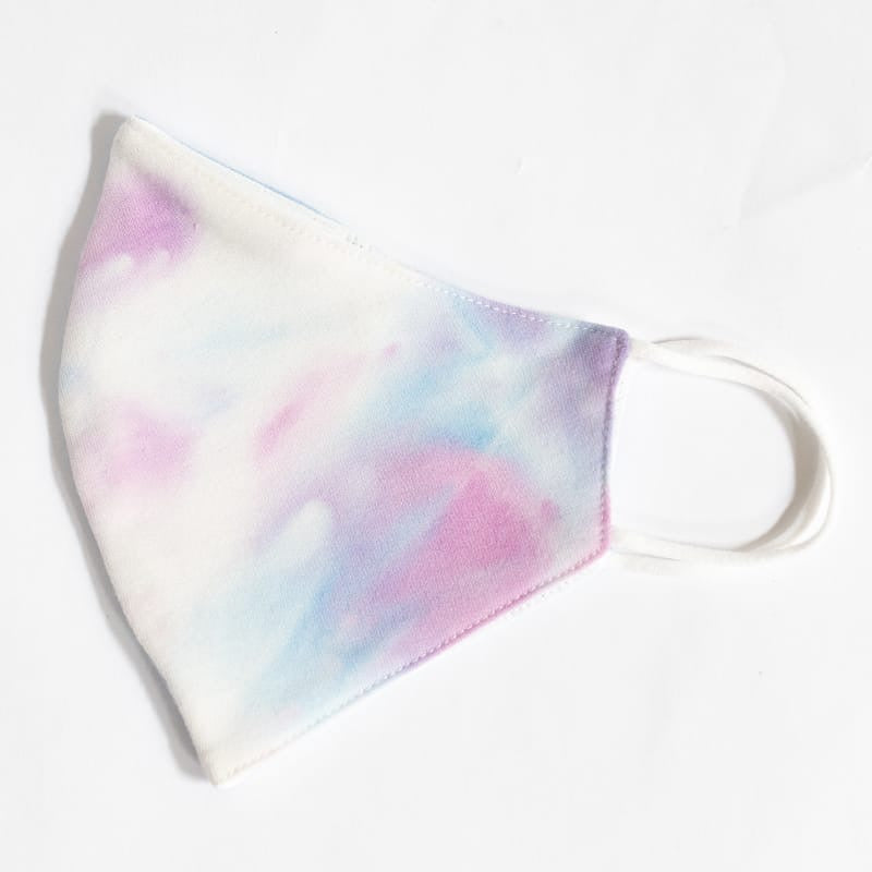 Tie-Dye white - Reusable Cotton Mask