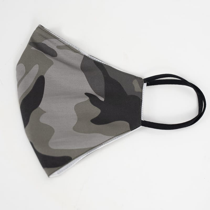 Camo Dark - Reusable Cotton Mask