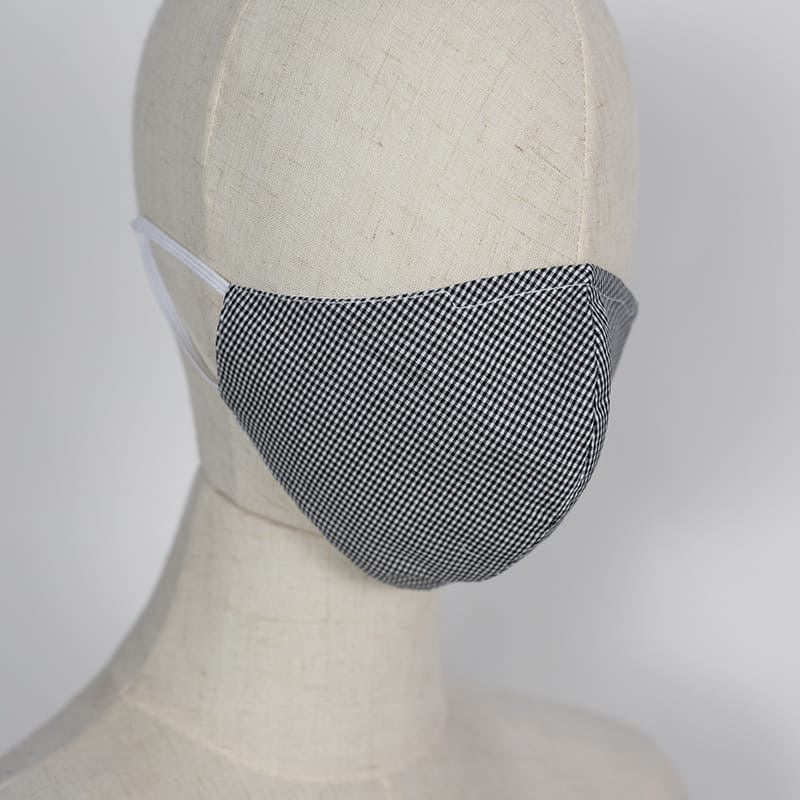 Checkered - Reusable Cotton Mask