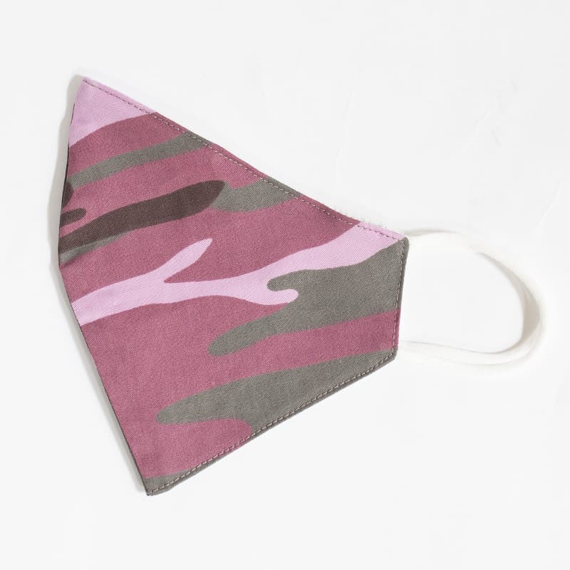 Camo Pink - Reusable Cotton Mask