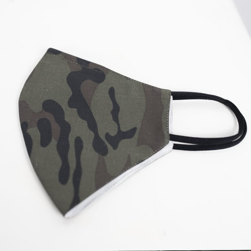 Camo - Reusable Cotton Mask