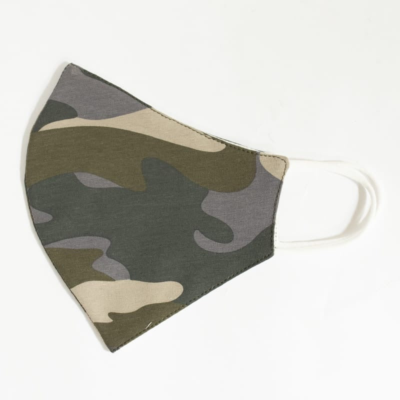 Camo Grey - Reusable Cotton Mask
