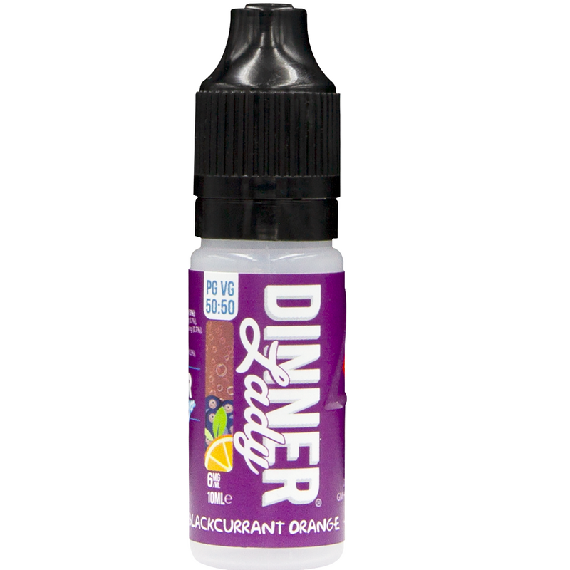 Blackcurrant Orange - 50/50 Series by Dinner Lady