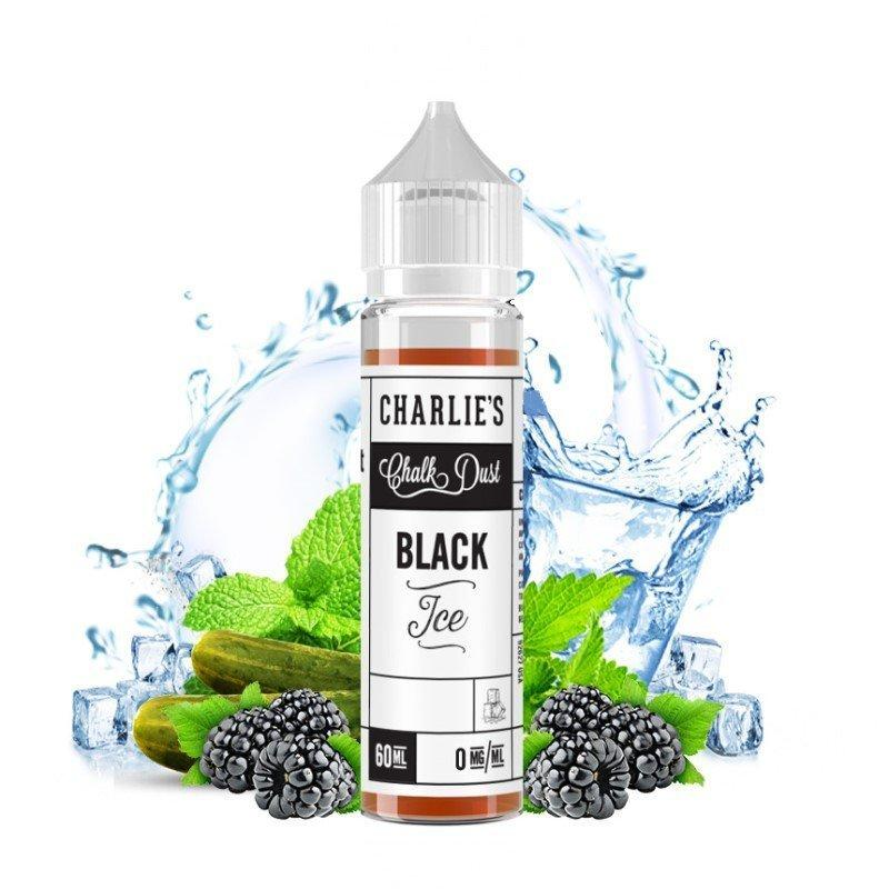 Charlie's Chalk Dust Black Ice Menthol (Free Nic Shot Included)