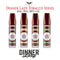 Tobacco 50ml Shortfill Range by Dinnerlady