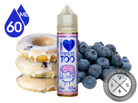 I Love Donuts Too - 50ml Shortfill by Mad Hatter (Free Nic Shot Included)