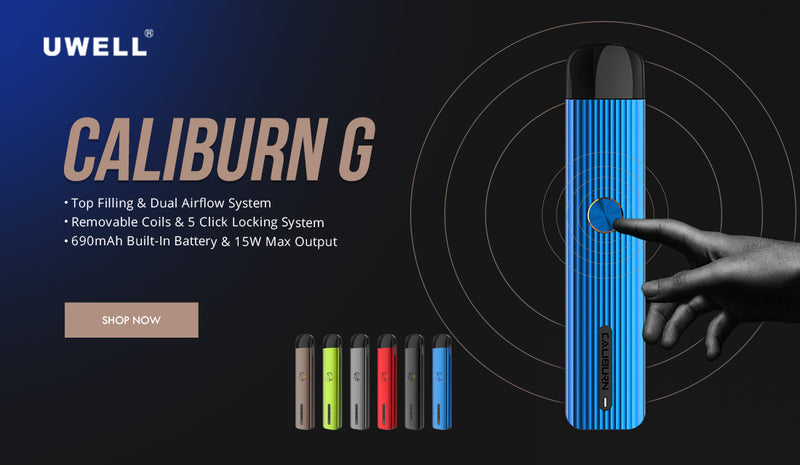 Caliburn G POD Kit by Uwell