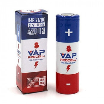 IMR 21700 Battery - 4200mah by Vap Procell