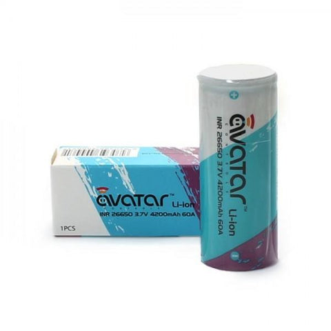 26650 4200mAh Battery by Avatar