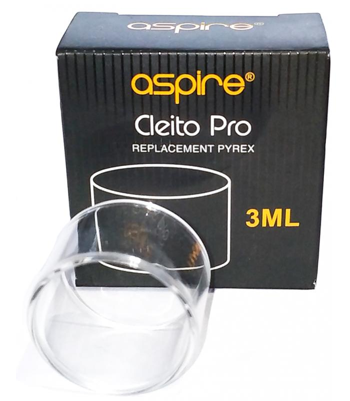 Cleito Pro Replacement Straight 3ml Glass by Aspire