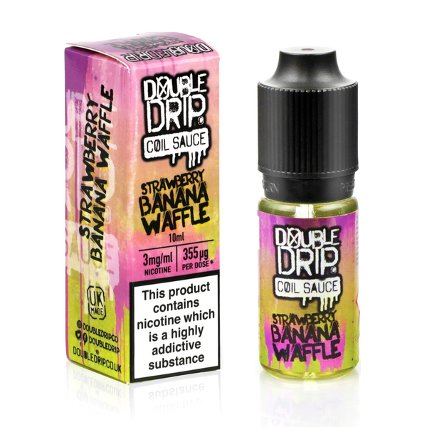 Strawberry Banana Waffle 10ml by Double Drip
