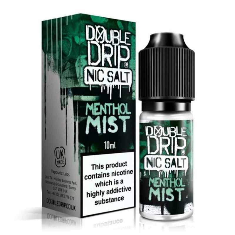 Menthol Mist 10ml Nic Salt by Double Drip