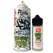 Neon Green Slushie - 100ml Short Fill - Spray Can by Elements