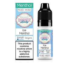 Ice Menthol 18mg - 50/50 Series by Dinner Lady