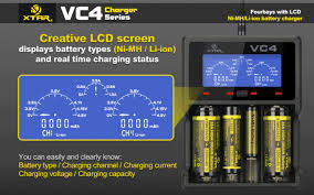 VC4 - 4 Cell Advanced Charger by Xtar