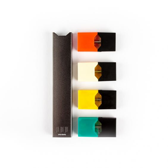JUUL Starter Kit inc 4 x Pre-filled Pods