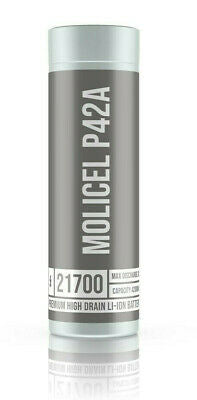Molicel P42A 21700 (4200mah) Single Battery Cell