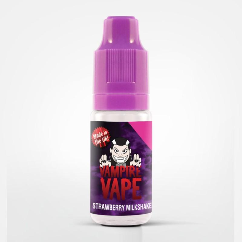 Strawberry Milkshake 10ml by Vampire Vape