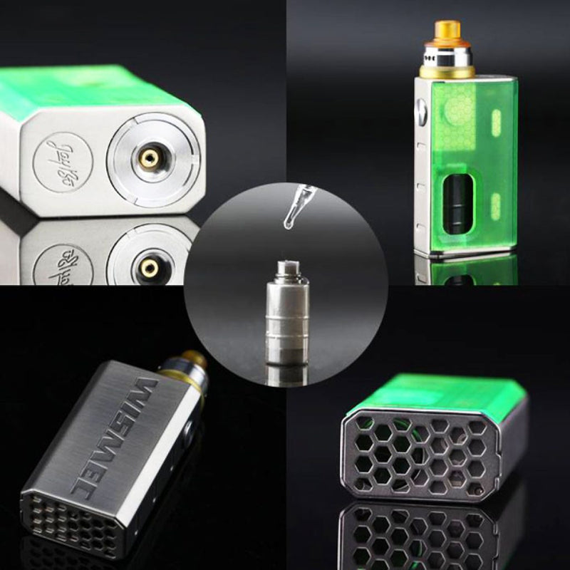 Luxotic BF Box with Tobhino RDA by Wismec