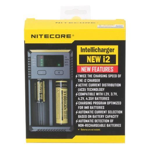 New i2 Intelligent 2 Cell Charger by Nitecore