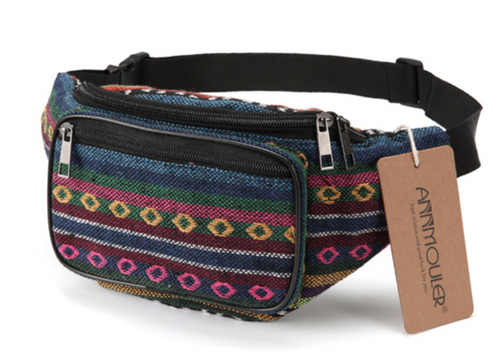 Bauchtasche Ethno Tribal Bum Bag