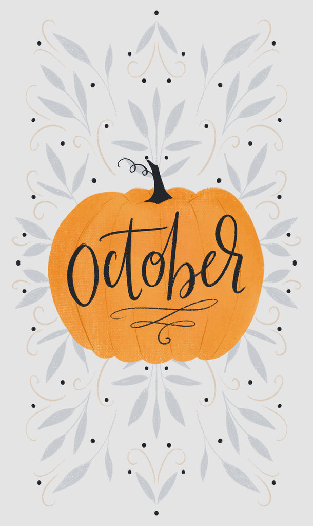FREE October background & wallpaper