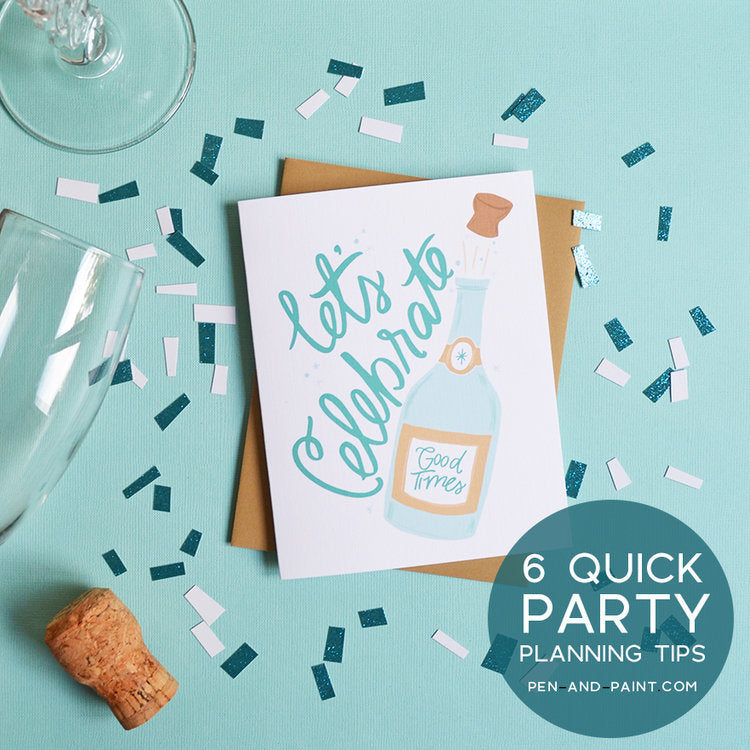 My Top 6 Party-Planning Tips