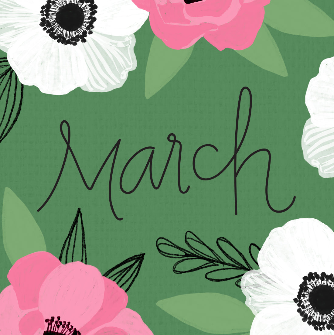 Free March Desktop Background Wallpaper Pen Paint