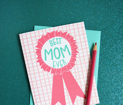 Best Mom ever, Mother's Day Card MF827