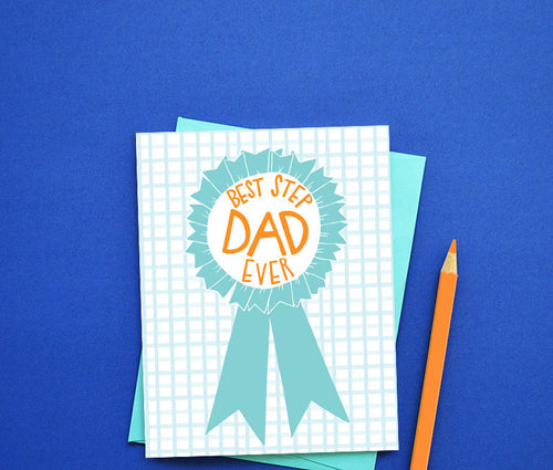 Best Stepdad ever card