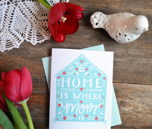 Home is Where Mom is Mother's Day Card