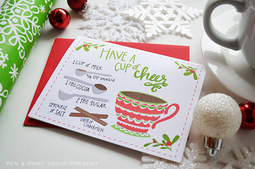 Have a cup of cheer holiday card