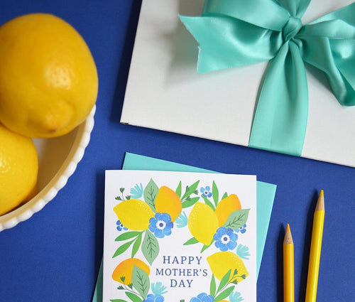 Happy Mother's Day Lemons card MF859