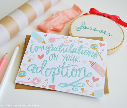 Congratulations on your adoption card