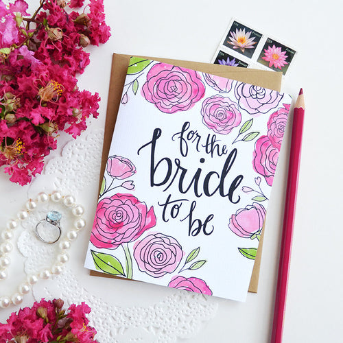 For the Bride to be card