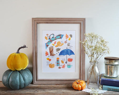 Fall Favorites Art print