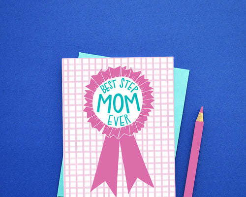 Best Stepmom ever Mother's Day card
