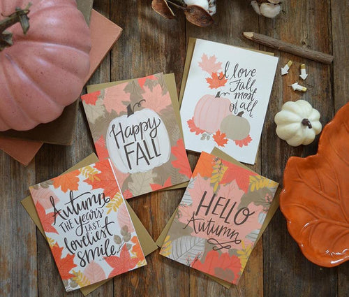 I love Fall most of all card
