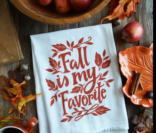 Fall is My Favorite Kitchen Towel