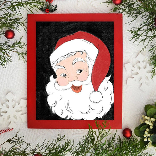 Hey Santa! - Christmas / Holiday Art Print