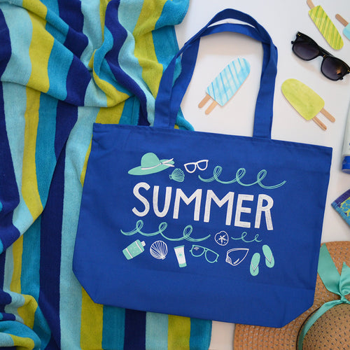Summer favorites tote
